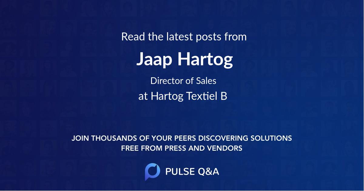 Jaap Hartog