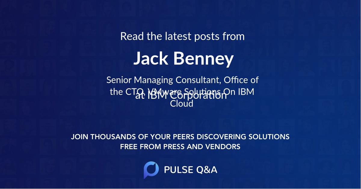 Jack Benney