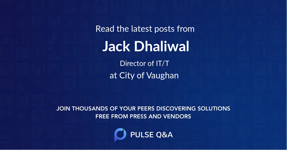 Jack Dhaliwal