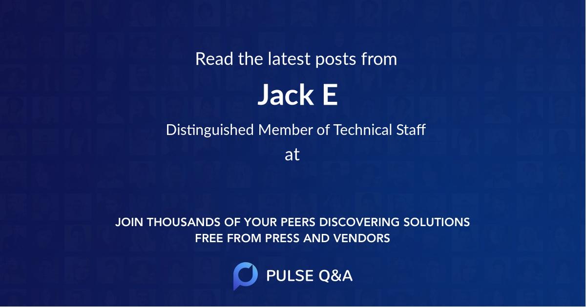 Jack E.