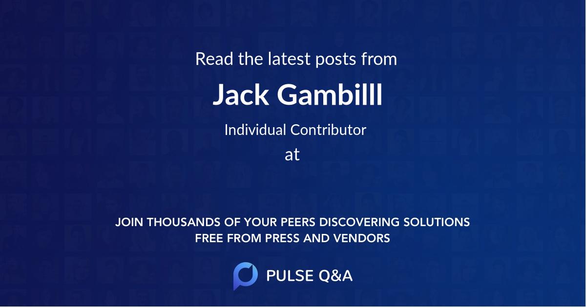 Jack Gambilll