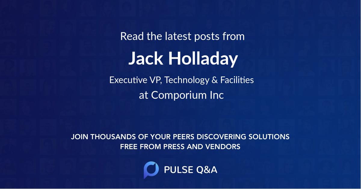 Jack Holladay