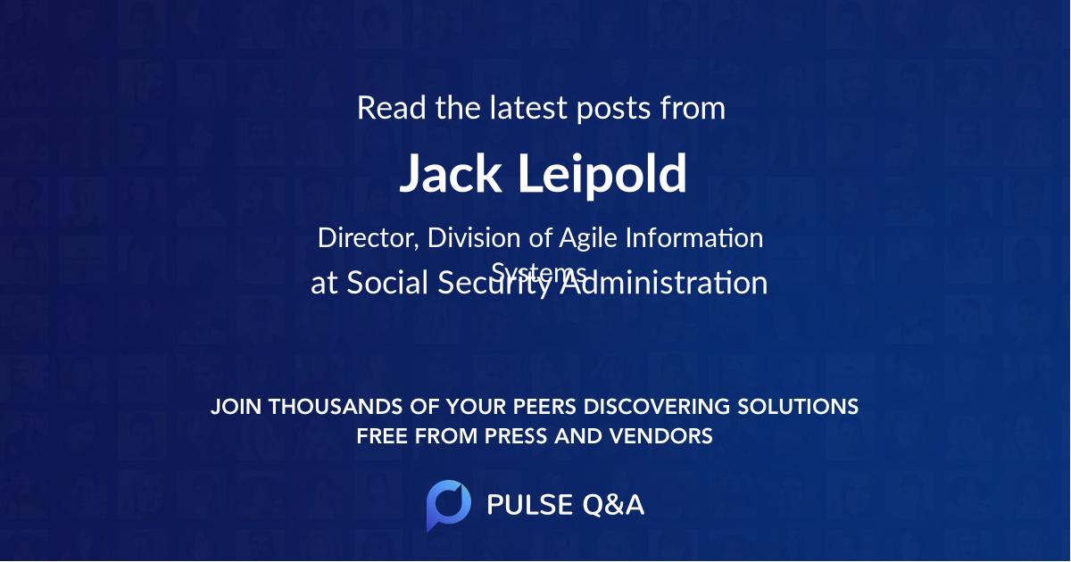 Jack Leipold