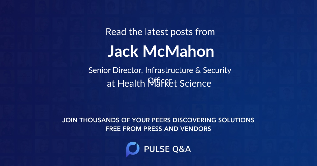 Jack McMahon