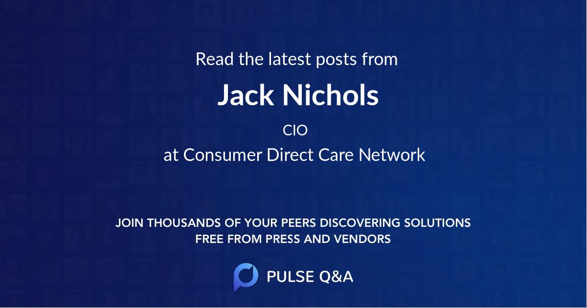 Jack Nichols