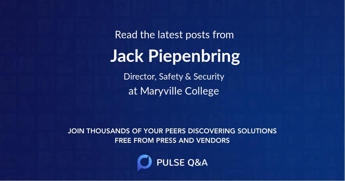Jack Piepenbring