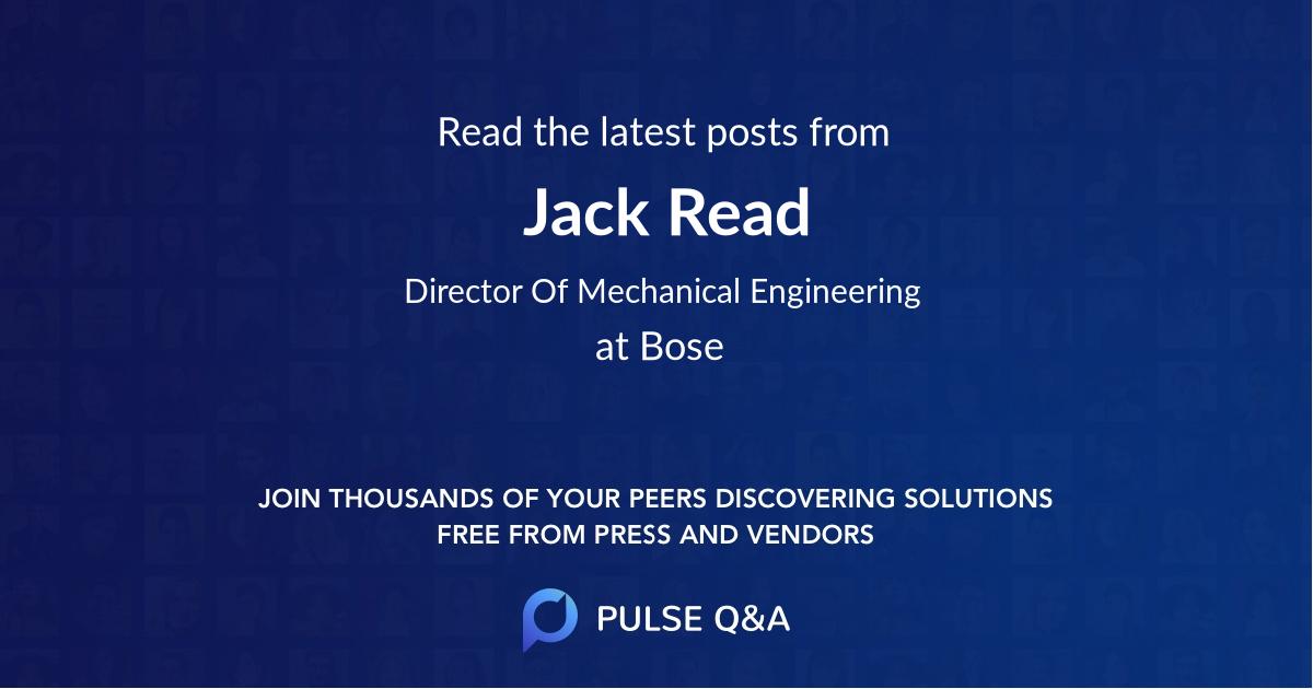Jack Read