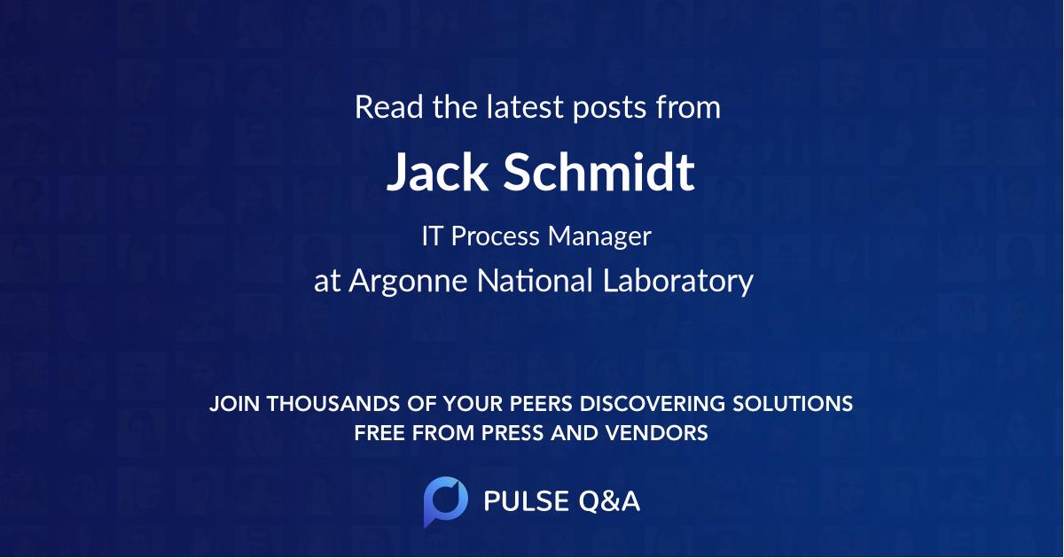Jack Schmidt