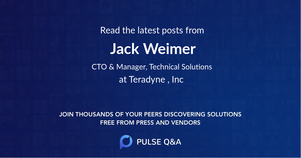 Jack Weimer