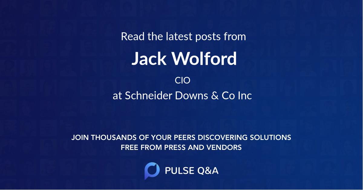 Jack Wolford