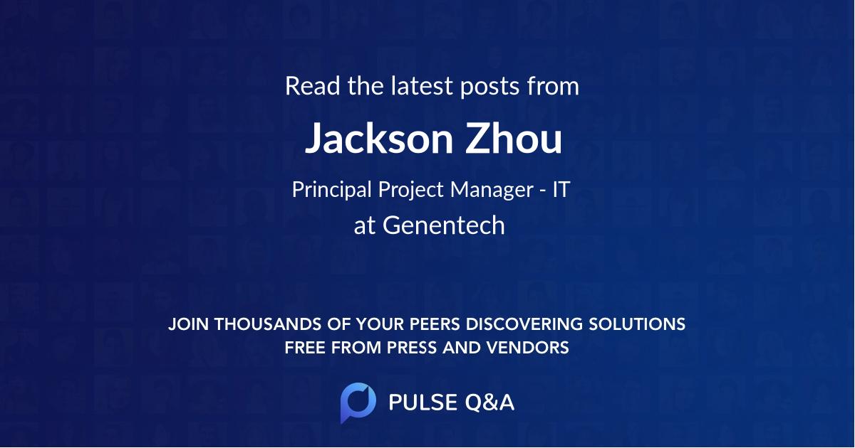 Jackson Zhou