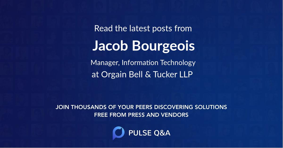 Jacob Bourgeois