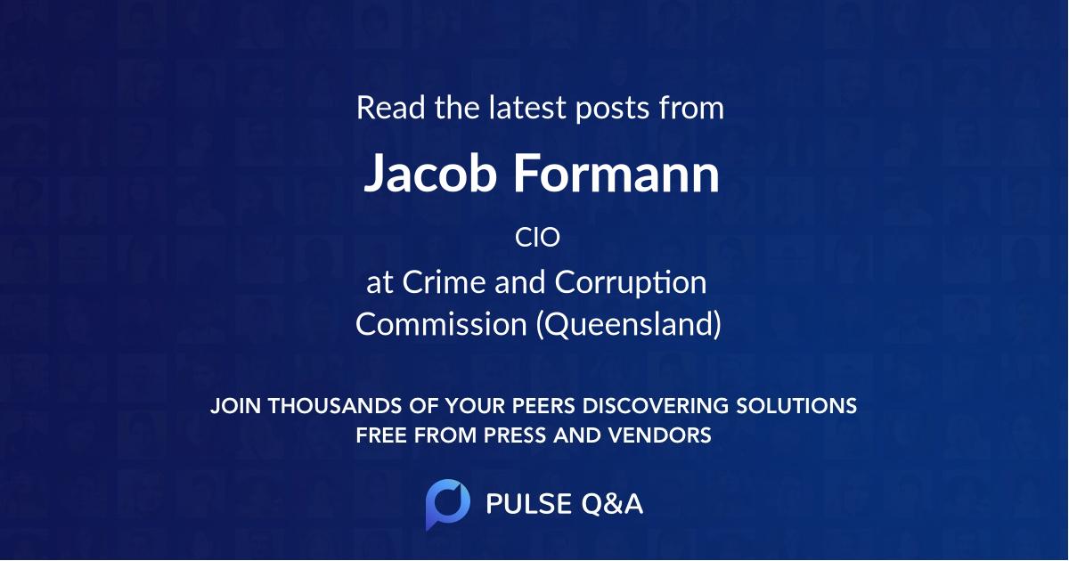 Jacob Formann