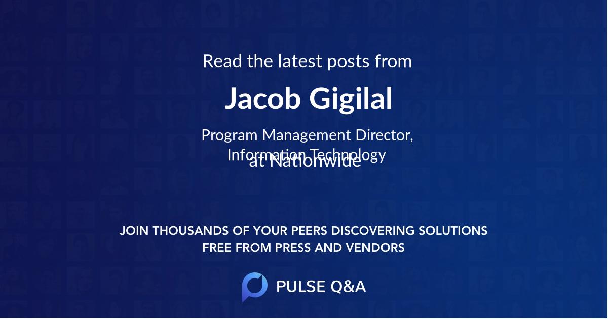 Jacob Gigilal