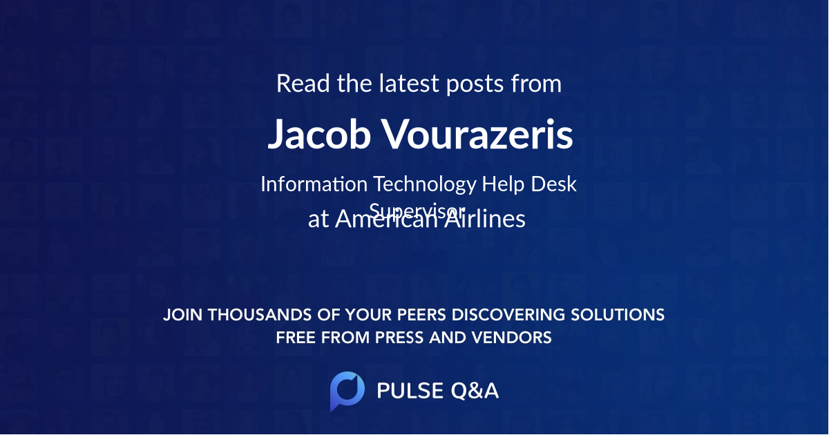 Jacob Vourazeris