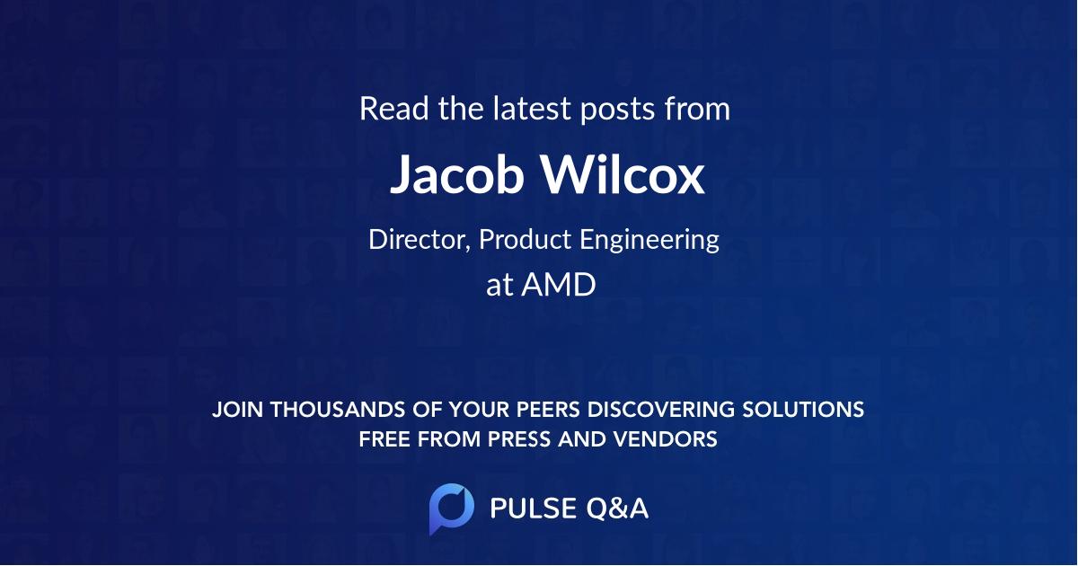 Jacob Wilcox