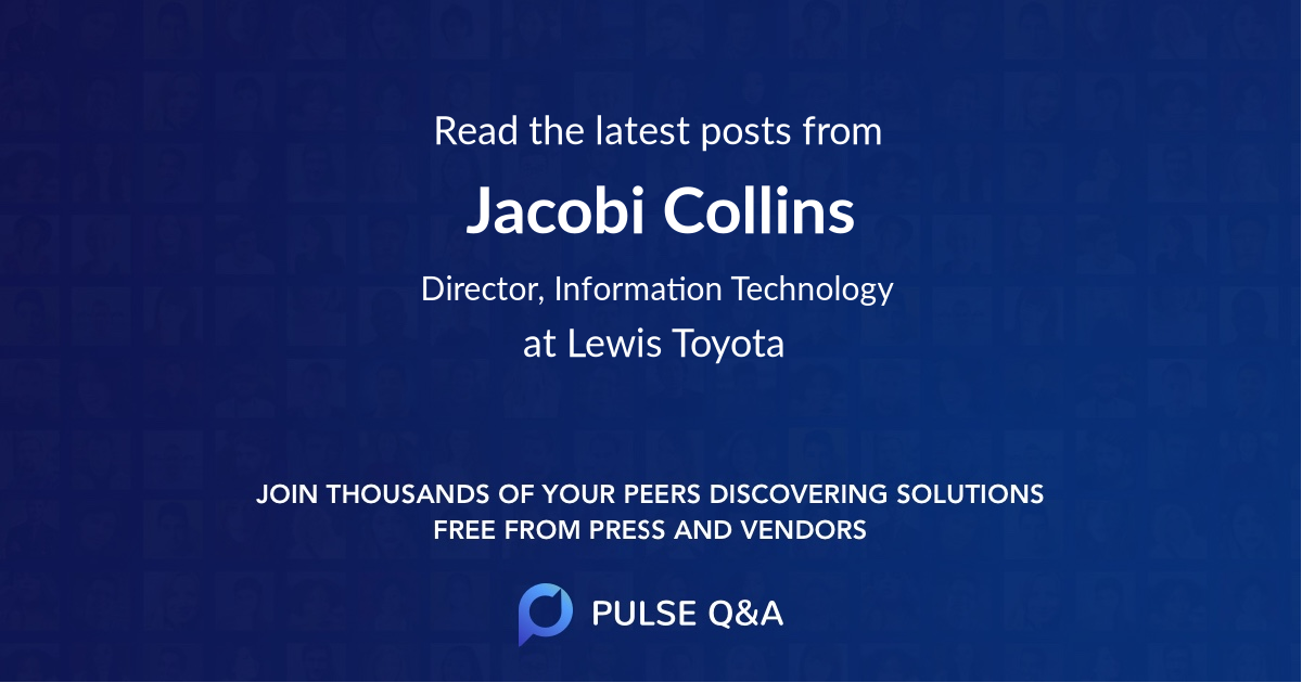 Jacobi Collins