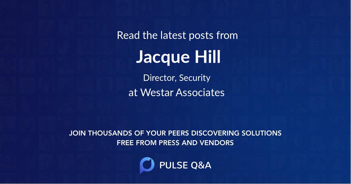 Jacque Hill