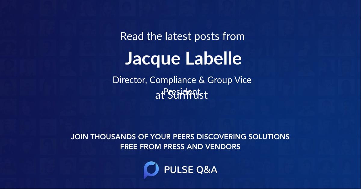 Jacque Labelle