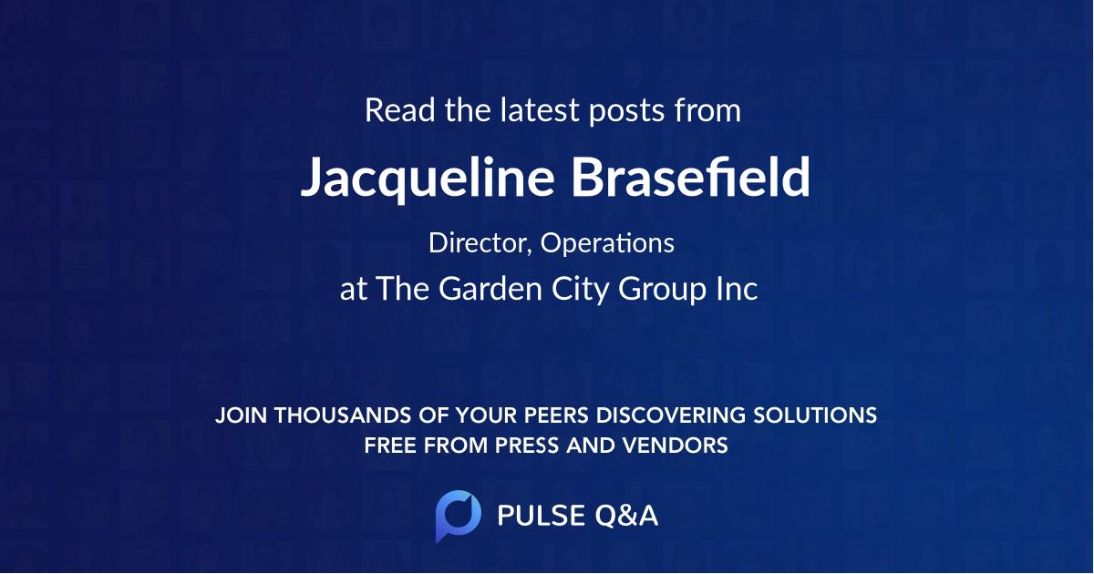 Jacqueline Brasefield