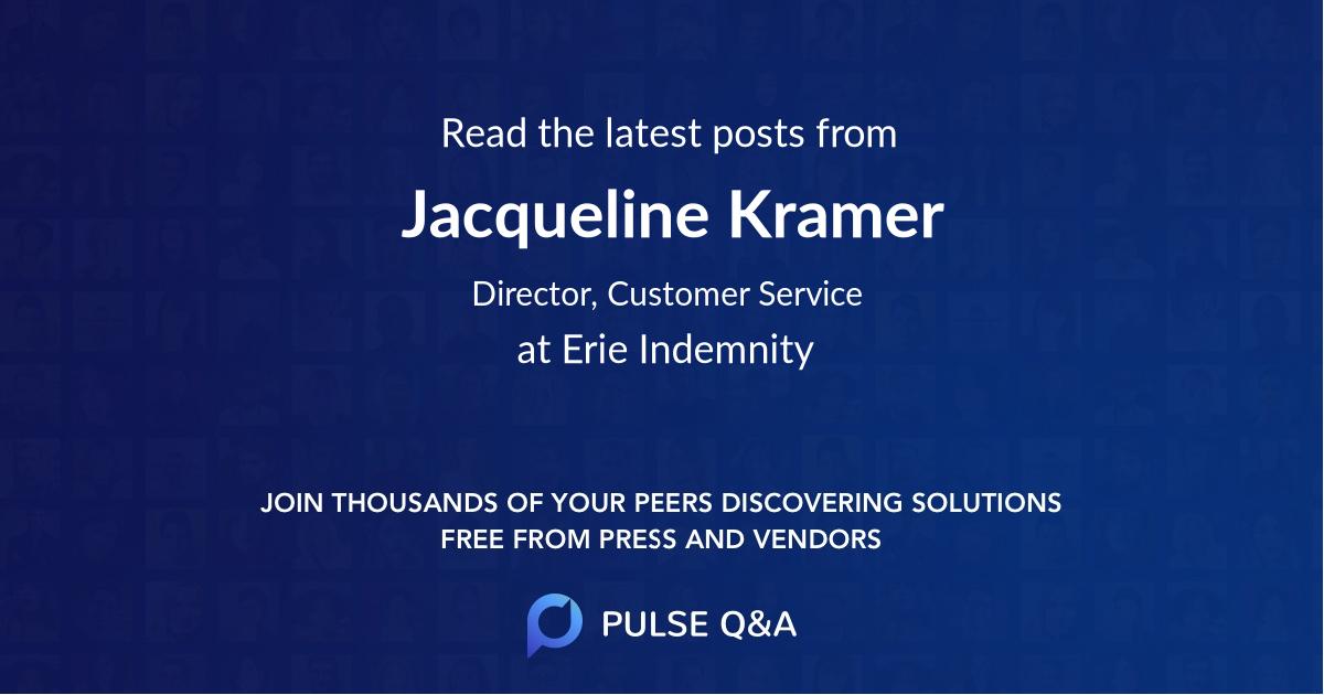 Jacqueline Kramer
