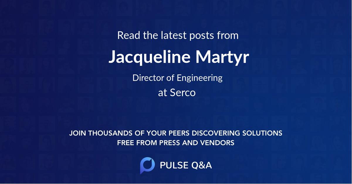 Jacqueline Martyr