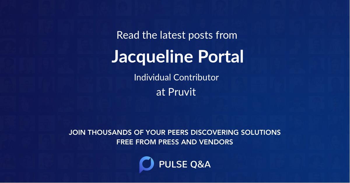 Jacqueline Portal