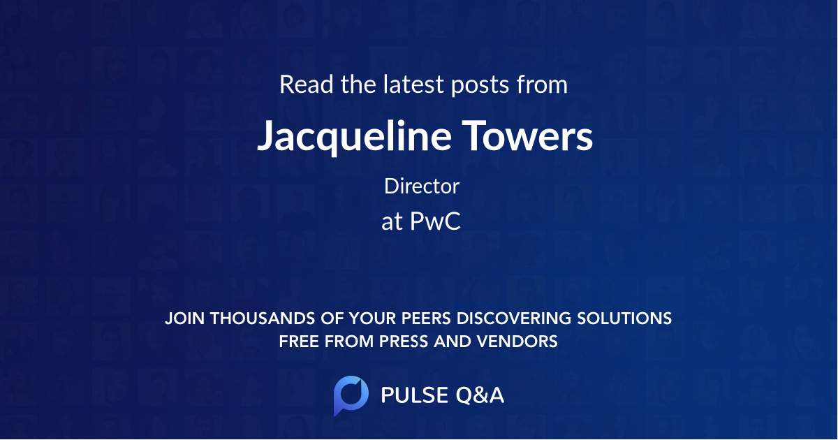 Jacqueline Towers