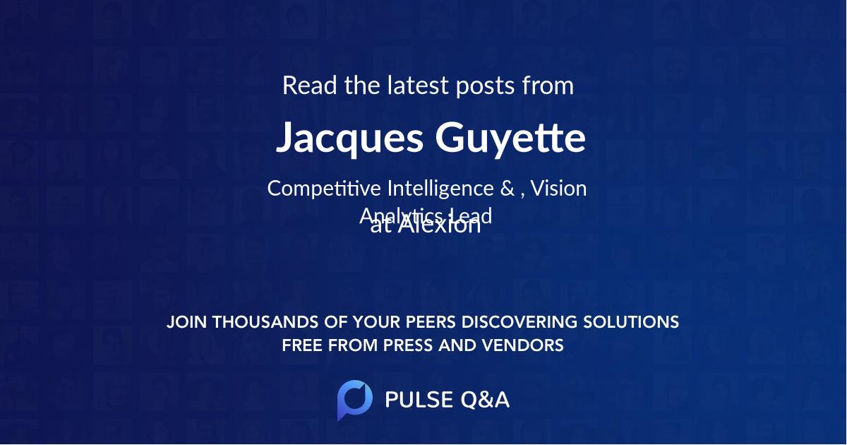 Jacques Guyette
