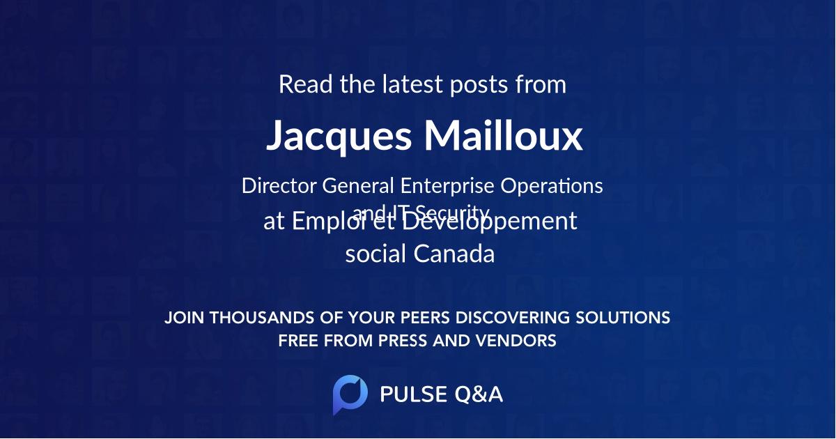 Jacques Mailloux