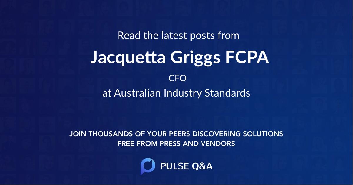 Jacquetta Griggs FCPA