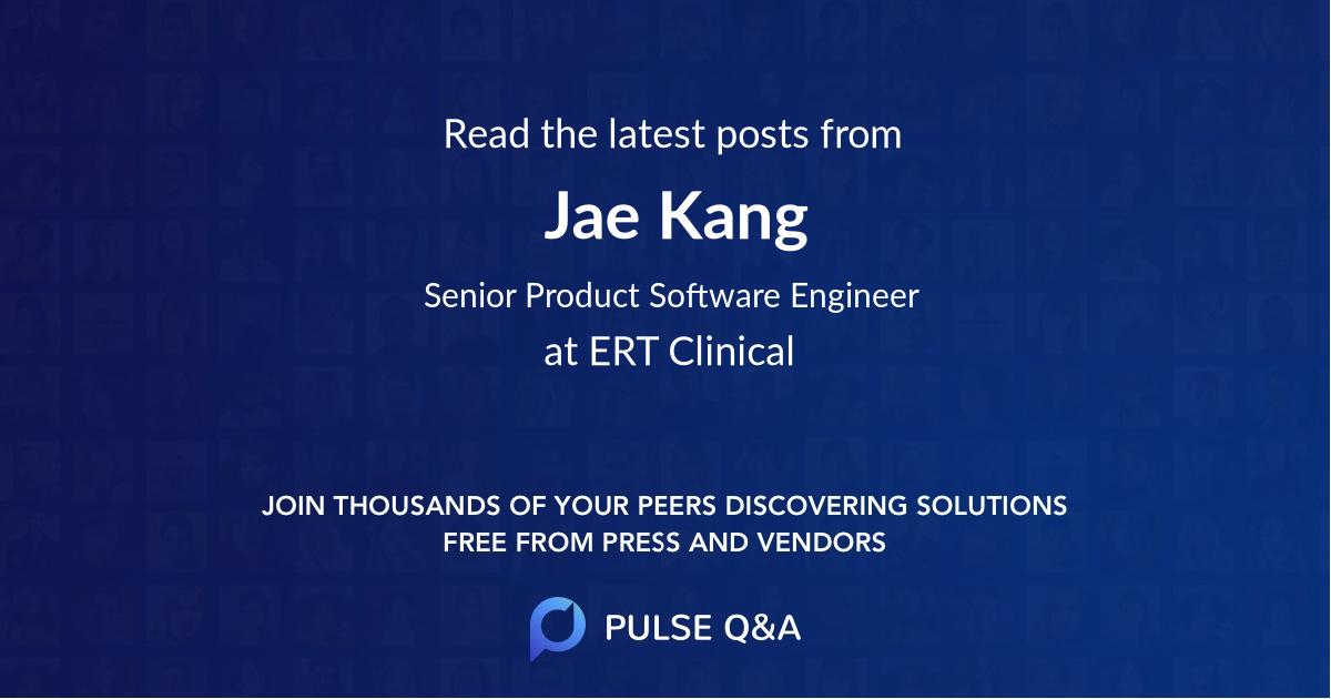 Jae Kang