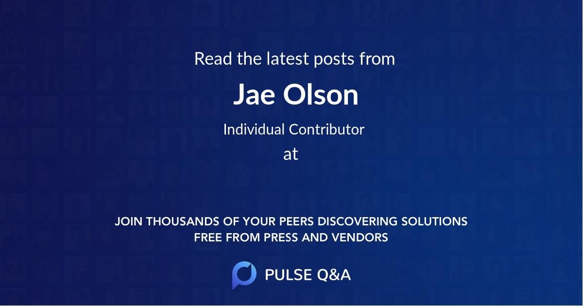 Jae Olson