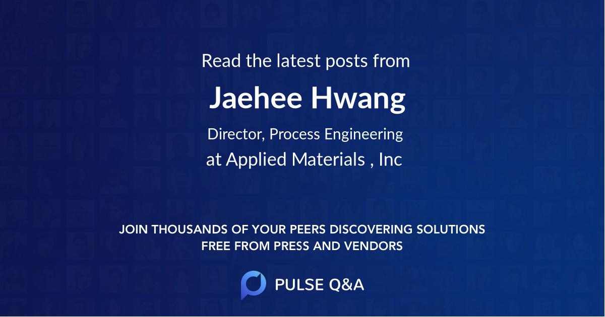 Jaehee Hwang