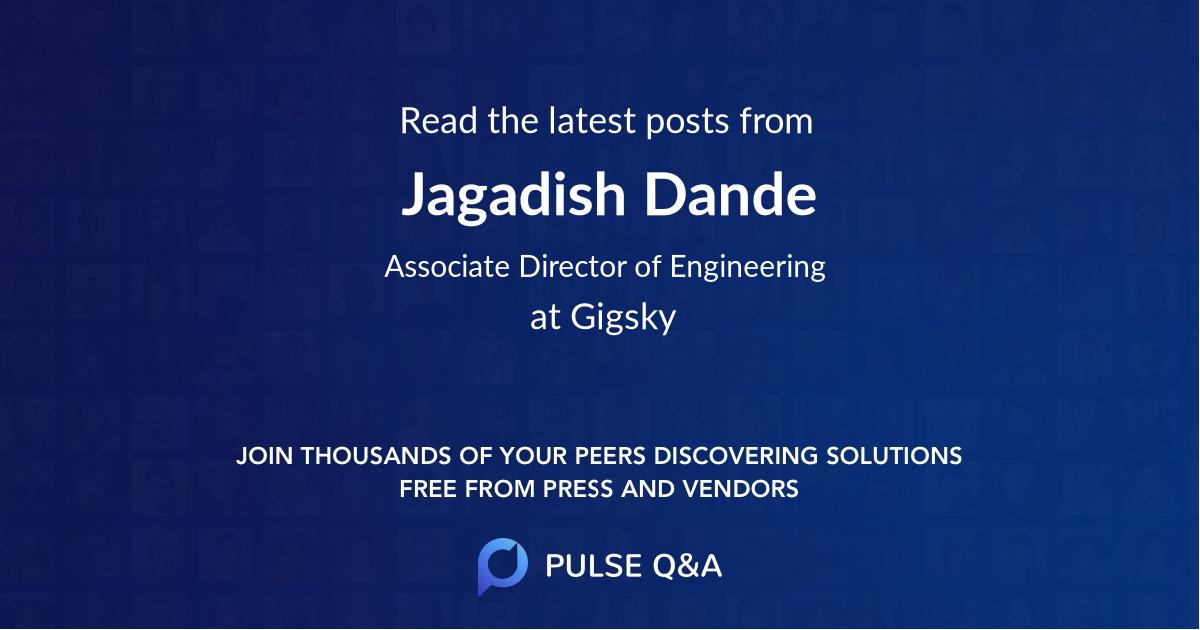 Jagadish Dande