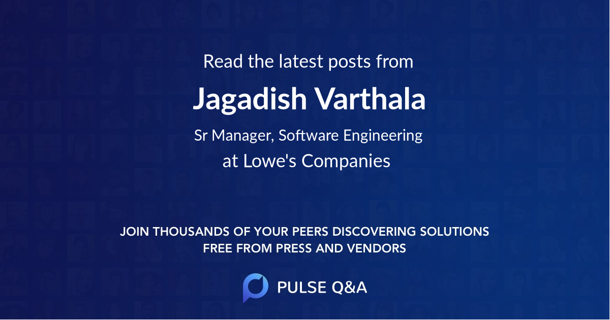 Jagadish Varthala