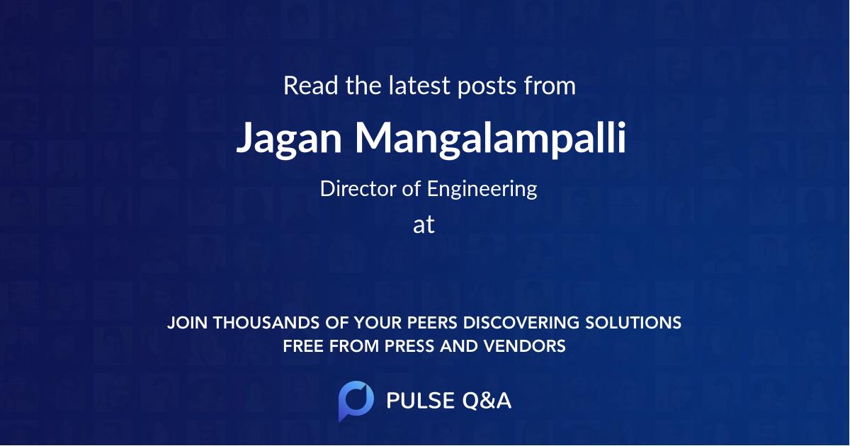 Jagan Mangalampalli