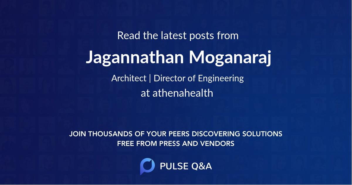 Jagannathan Moganaraj