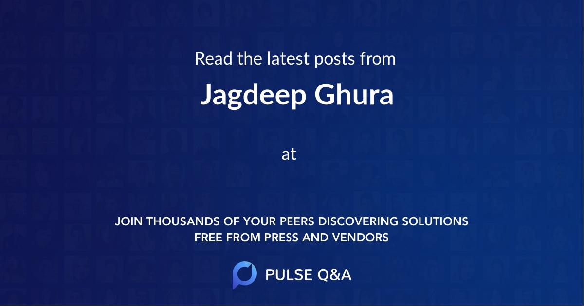 Jagdeep Ghura