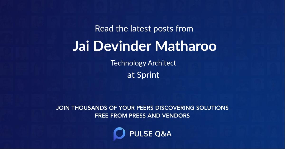 Jai Devinder Matharoo