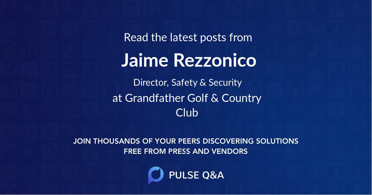 Jaime Rezzonico