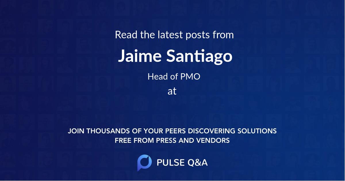 Jaime Santiago