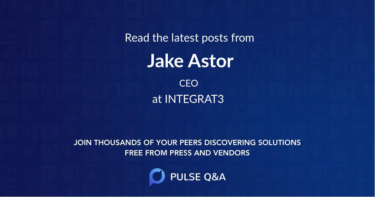 Jake Astor