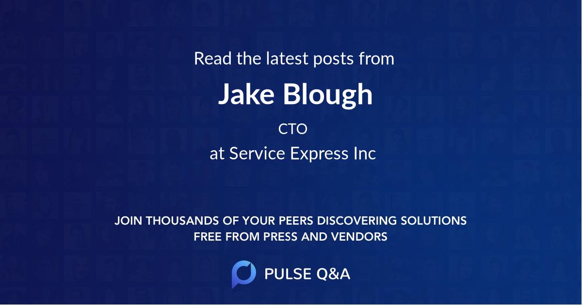 Jake Blough