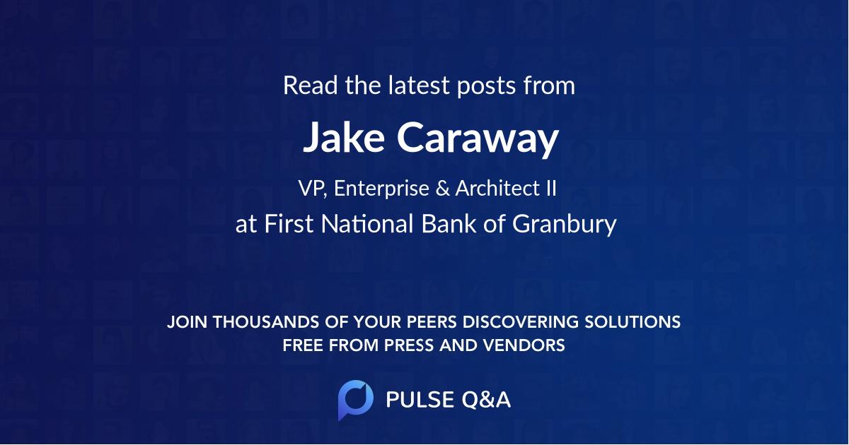 Jake Caraway