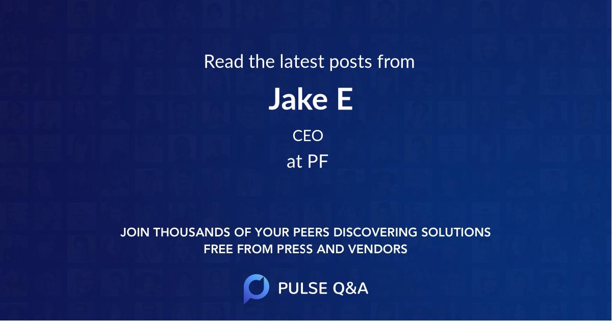 Jake E