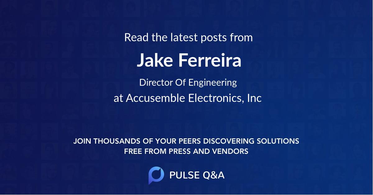 Jake Ferreira