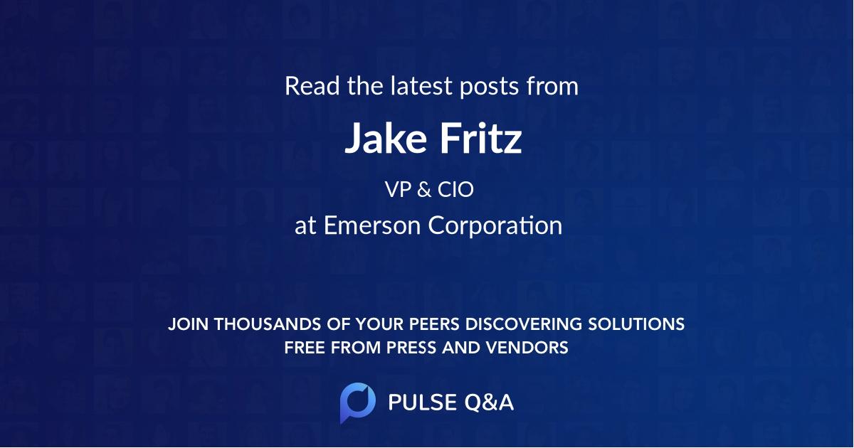 Jake Fritz
