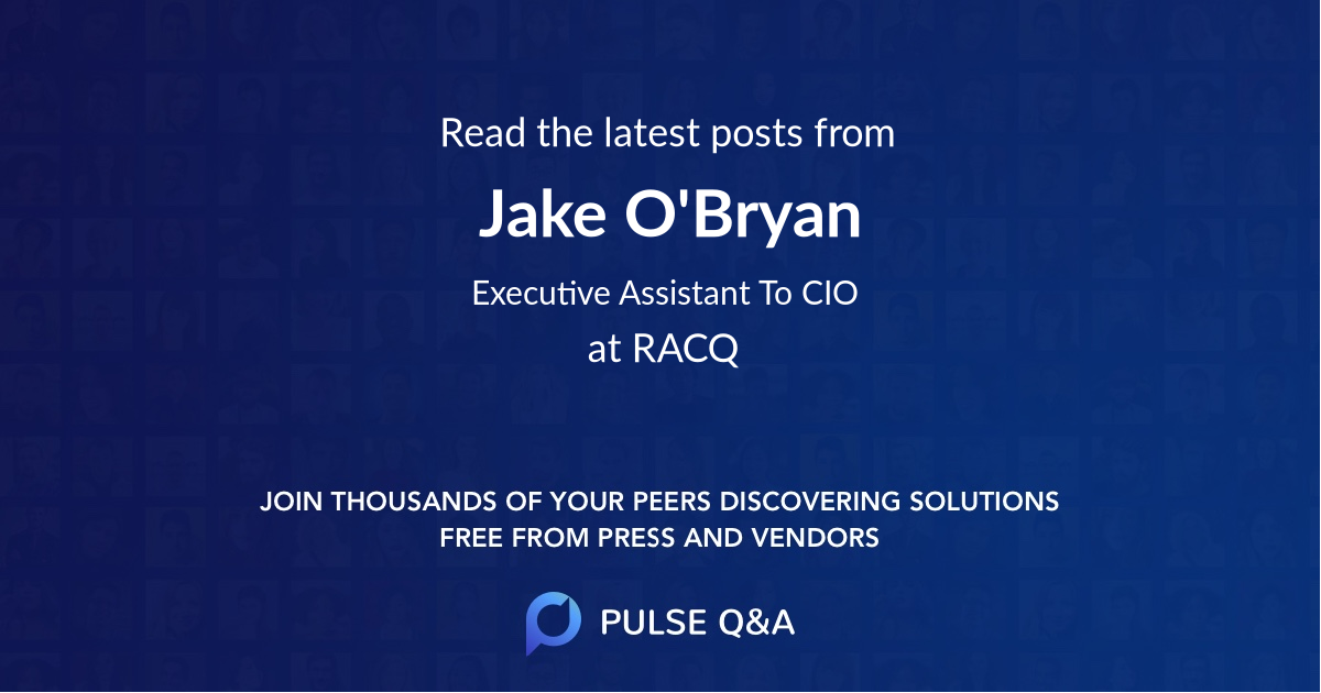 Jake O'Bryan