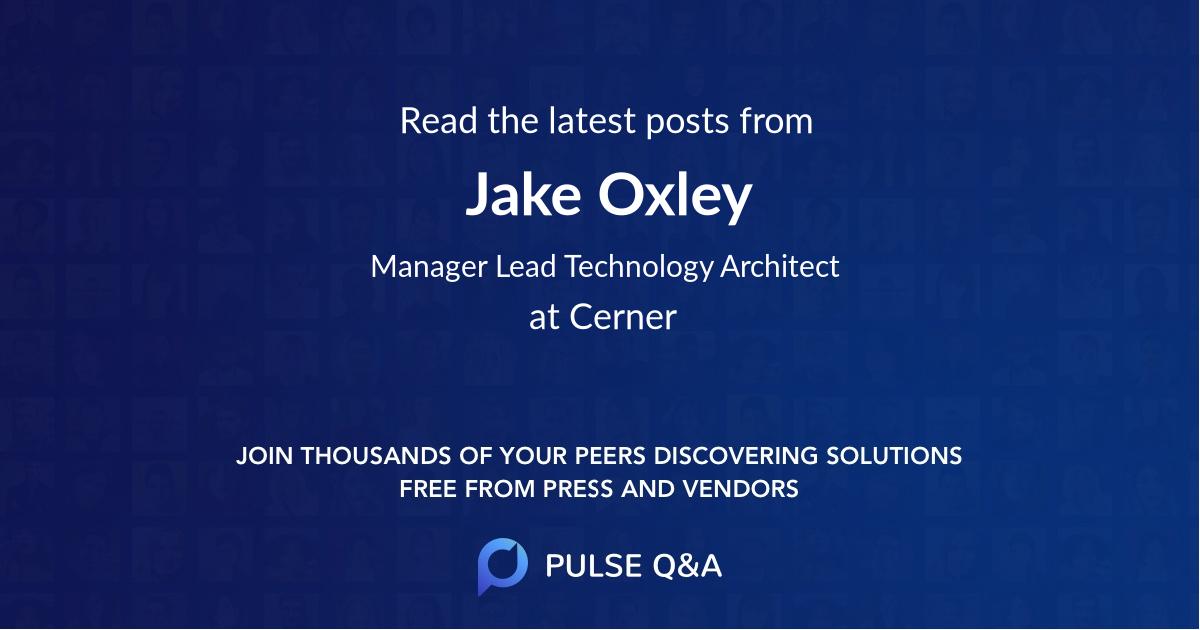 Jake Oxley